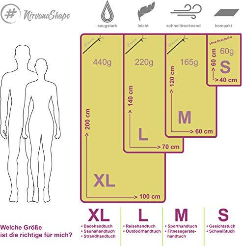 51lJ7nOXlzL NirvanaShape ® Mikrofaser Handtücher   saugfähig, leicht, schnelltrocknend   Badehandtücher, Reisehandtücher…