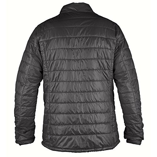 Black Packbare Pullover Giacca Herren Jacke Abisko Uomo Fjällräven Padded qztwpq8