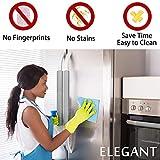 Refrigerator Door Handle Covers, 6 PCS, Sleek and