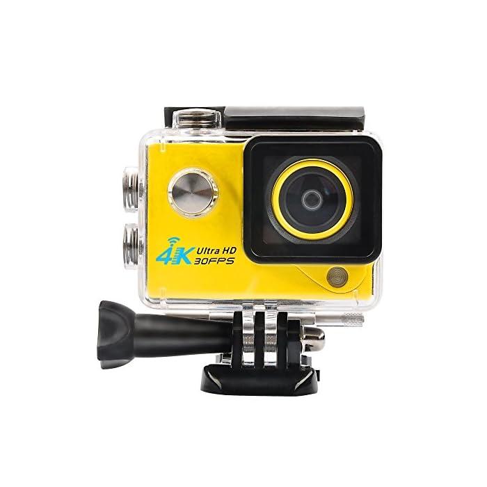 4K Acción Cámara Videocámaras Full HD 1080p cámara portátil Mini Wifi bajo el agua cámara deportiva