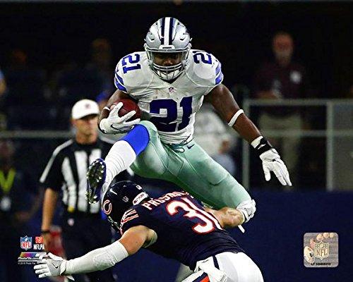 Ezekiel Elliott Dallas Cowboys 2016 NFL Action Photo