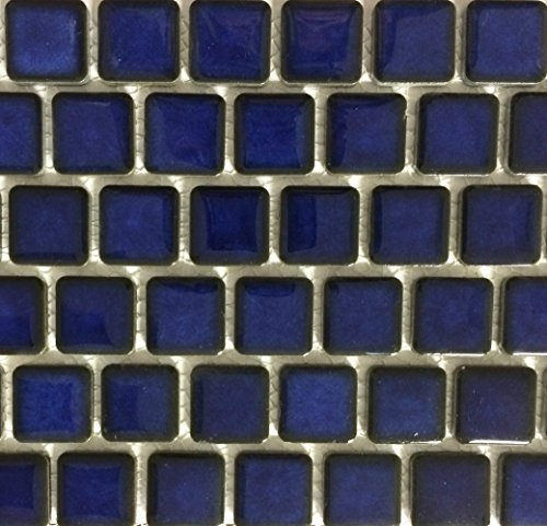 Fujiwa Porcelain Swimming Pool Waterline Tile - PEB-191 ROYAL BLUE 1