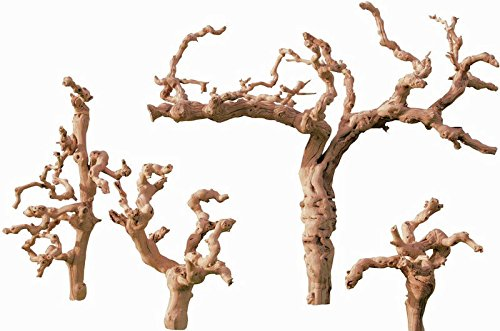 Grapewood Branches – Sandblasted – Grape木製 B01HYSENLC Case of 25 branches - 12 inch
