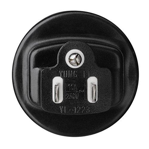 Hama Reisestecker USA Typ B (Adapter für Cost Rica, Kanada, Kuba, Jamaika, geeignet für Geräte mit deutschem Schutzkontaktstecker, Euro- oder Konturenstecker)