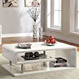 Furniture of America CM4057C Ninove I White High Gloss Coffee Table Review