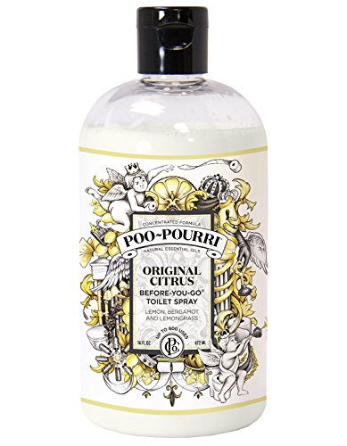 Poo-Pourri Original Before-You-Go Bathroom Spray Two 16 ounce refill bottle by Poo-Pourri
