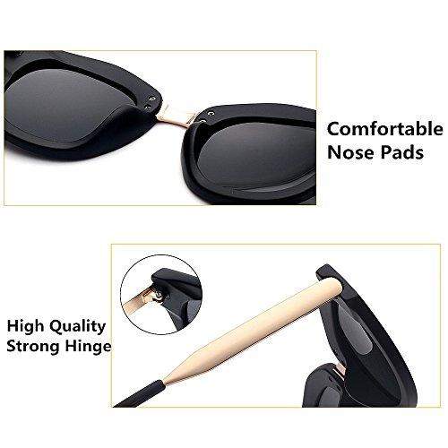 Tonos de Color Viajar Unisex Ojos Aire de Color C6 al de de UV Protección Gato Completo Lente Proteccion de Marco Sol Libre Conducción Moda C5 Gafas Ojos PnUwPpqr