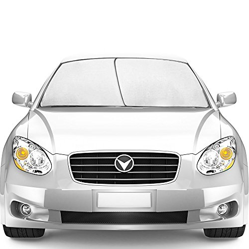 - TriNova Car Sun Shade Windshield, Sunshade Cover Maximum UV Protection, Universal fit Easy Storage