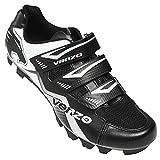 Zapatillas de ciclismo de montaña para hombre de Venzo, compatibles con tacos Shimano SPD, buenas para bicicleta de spinning, todoterreno y MTB
