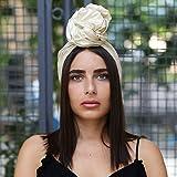 Beige Fascinator, Silk Headbands, Millinery, Worldwide Shipment, Delivery in 2 Days, Head wrap, Bohemian Accessories, Headpieces, Head dress, Kentucky Derby Hat, Gift Box, Boho Chic
