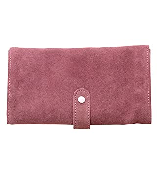 Amazoncom Reed Barton Jewelry Chests TRIFOLD PINK SUEDE JEWELRY