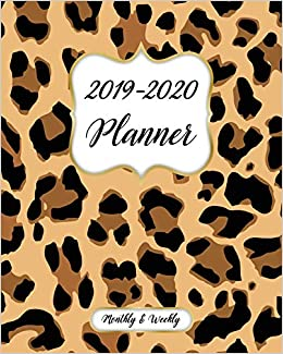 Amazon.com: 2019-2020 Monthly And Weekly Planner: Calendar ...