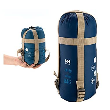 Naturehike Outdoor Sleeping Bag Camping Sleeping Bag Envelope Sleeping Bag (Dark blue)
