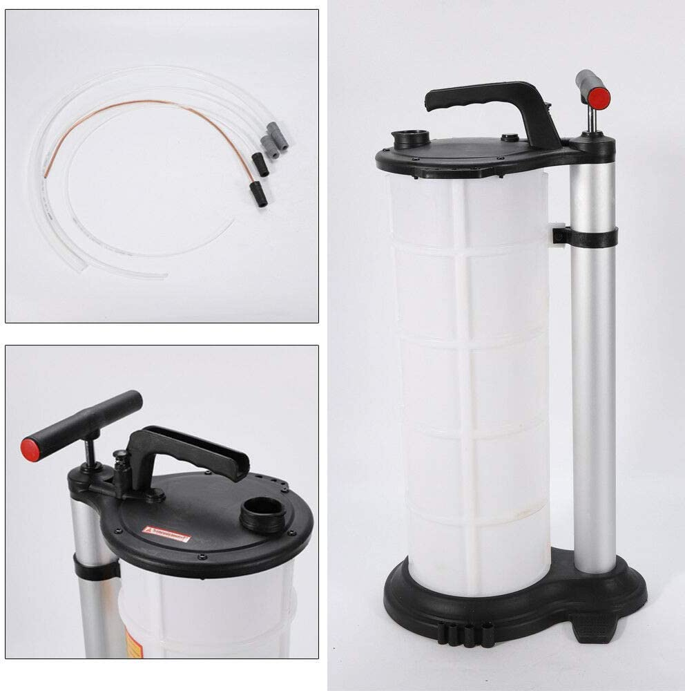WUPYI2018 Oil Extractor Pump Manual Extractor Oil Extraction Device for Engine Fluid 9L Capacity
