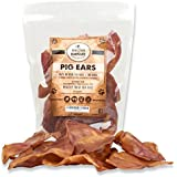 100% Natural Whole Pig Ear Dog Treat, Brutus & Barnaby's Healthy, Pure Pork Ear is Easily Digestible with no Added Colorings, Chemicals or Hormones