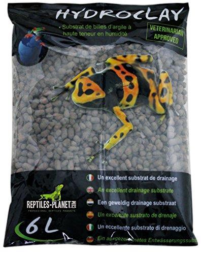 Reptiles Planet Hydroclay - Sustrato de Drenaje para terrarios Tropicales, 6 litros REPU5