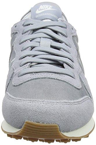 Donna Ginnastica Sail Grigio Scarpe Internationalist da Wolf Nike Grey Wmns Wolf Grey wPnIaqgX