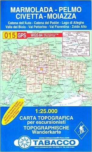 Cartina Tabacco 015.Marmolada Pelmo Civetta Moiazza 015 Cartes Topograhiq 1 25 000 French Edition Tabacco Casa Editrice 9788883150159 Amazon Com Books