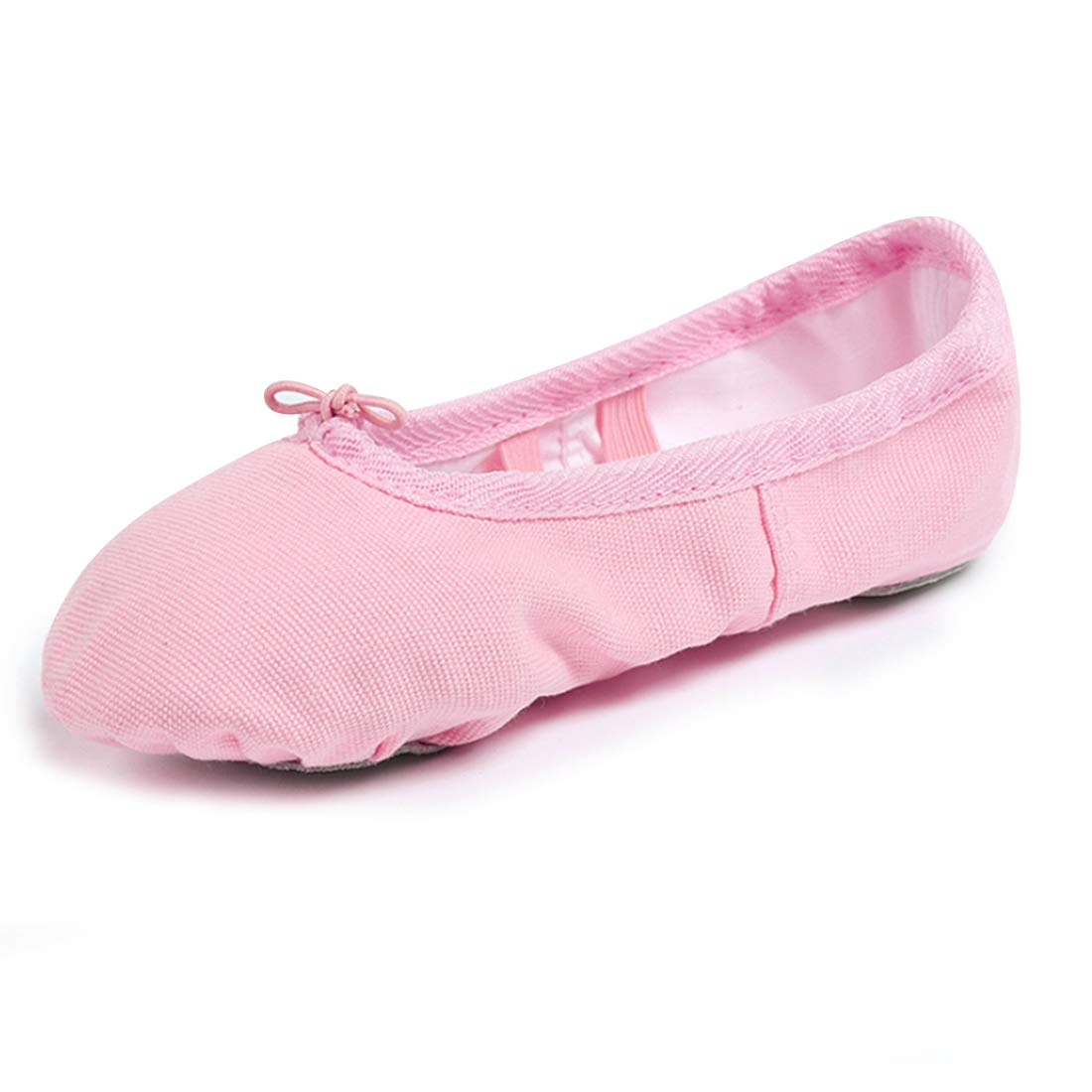 GetMine Kids Girls Ballet Dance Shoes Canvas Practice Gymnastics Ballet Flats Slipper Yoga Shoes (Toddler/Little Kid/Big Kid)
