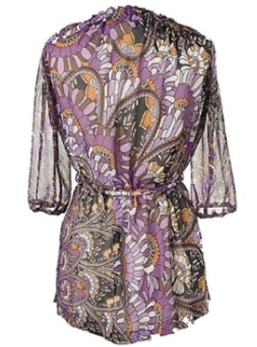 Couture Line túnica playa Blusa Manga Larga 2869710Lila