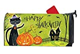 Studio M Halloween Outdoor Mailbox Cover MailWrap - Black Cat Magic