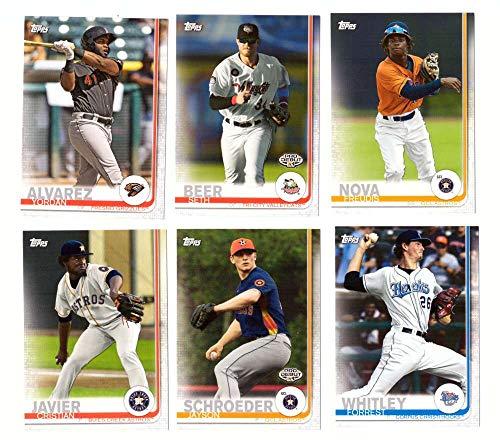 2019 Topps Pro Debut - Houston Astros - 6 Card Team Set