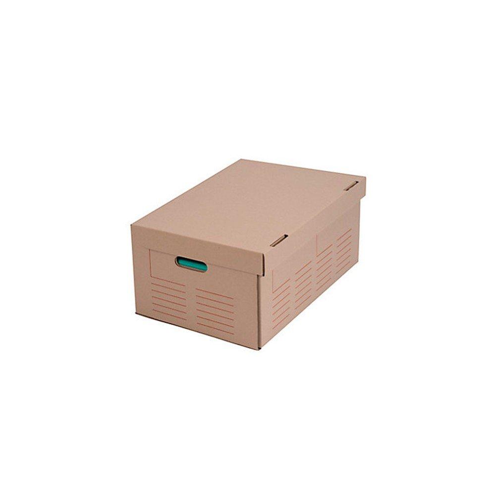Cenpac - 10 caisses multi-usage imprimées à poignées 520 x 350 x 250 mm - 567029x10 - DIAMWOOD