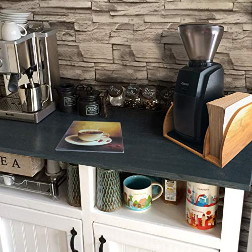 Chemex Coffee Maker Organizer with Silicone Mat | Eco-friendly, Durable & Water Resistant Bamboo | Designed for Baratza Encore Burr Grinders, Chemex Coffee Makers & Chemex Filters by Drip & Brew Coffee Company (Image #8)