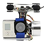 Generic Aluminum 2-Axle Brushless Gimbal Camera Mount Controller Plug&Play for DIY Drone Quadcopter Trex 500 550 Aircraft 7