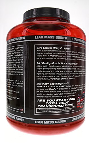Myogenix Aftershock Critical Mass Milk Shake, 5.62 Pounds