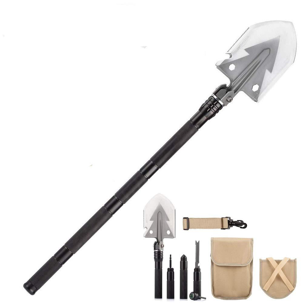 QIANGUANG® 74cm / 30 Militar plegable de acero inoxidable ...