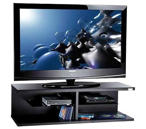 Carrelli Porta Tv Led.Guarnieri 391bs Nero E Silver Lcd E Plasma Carrello Porta Tv Led