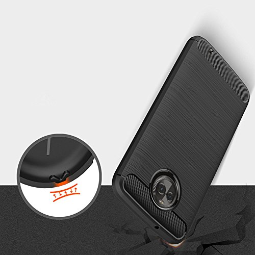 best website 2b672 8290f Moto X4 Case, Dretal [Shock Resistant] Flexible Soft TPU - Import It All