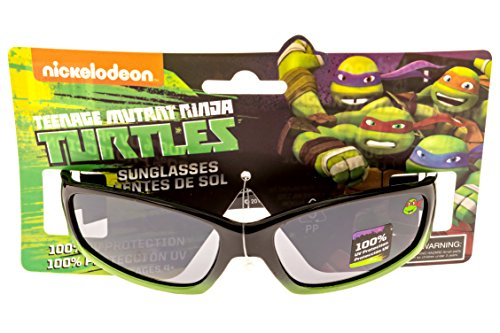 Nickelodeon Teenage Mutant Ninja Turtles Kid's Sunglasses in Green and Black