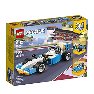 LEGO Creator 3in1 Extreme Engines 31072 Building Kit (109 Pieces): Toys & Games