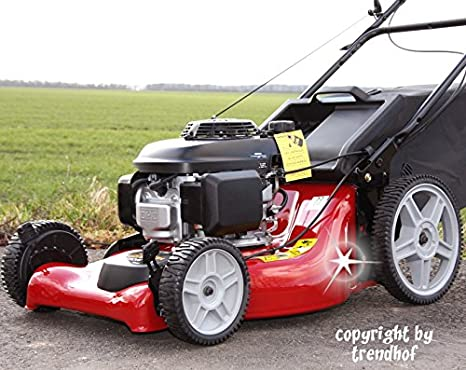 Cortacésped de gasolina Honda GCV160 con cesta, 53 cm, función ...