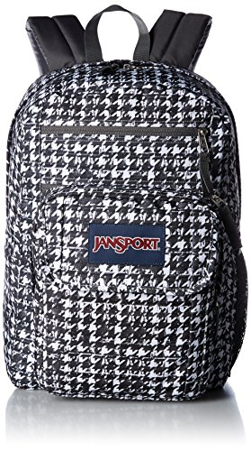 JanSport Unisex Digital Student Black Texture Tooth Backpack by JanSport