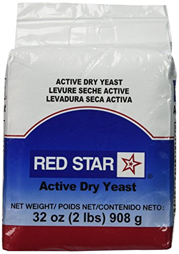 King Arthur Flour Red Star Active Dry Yeast 32 OZ (2 lbs)