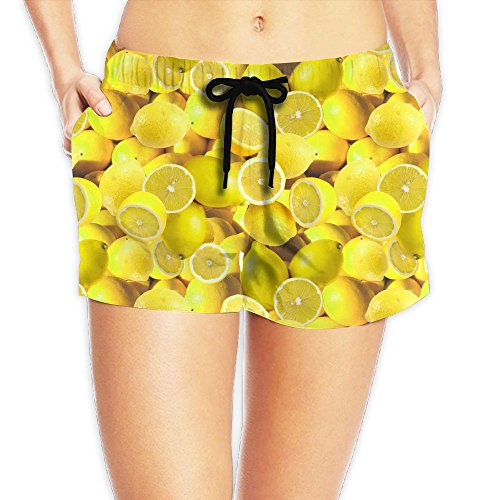 YUnMM Lemons Girl's Slim Beach Pants ()