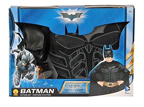 Batman The Dark Knight Boxed Batman Action Dress-Up (Dark Knight Action Cape)