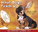 Great Value What Dogs Teach Us Daily Desktop Box Calendar 2017 {jg} Great Holiday Gift Ideas - for mom, dad, sister, brother, grandparents, gay, lgbtq, grandchildren, grandma.