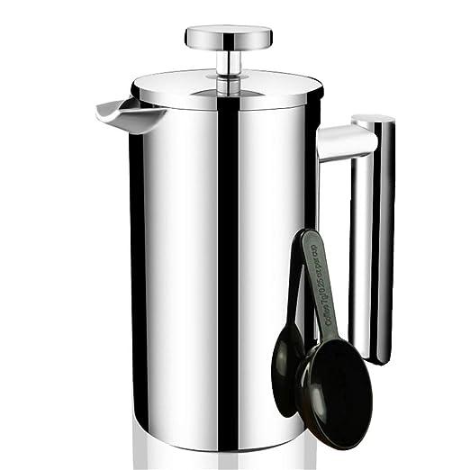 Fabricante de café Press Cafetera de presión de acero inoxidable ...
