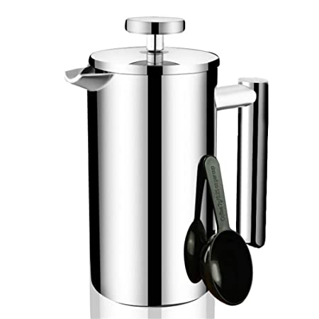Fabricante de café Press Cafetera de presión de acero ...
