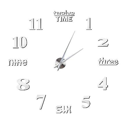 Fdit - Reloj de Pared para Cocina, diseño de Efecto 3D ...