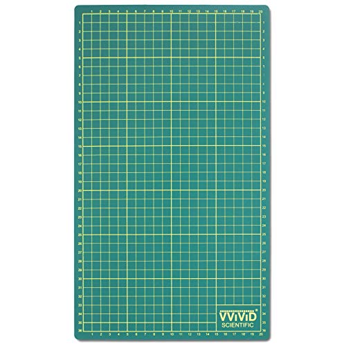 - VViViD Reversible Self-Healing Gridded Ruled Green Cutting Mat for Craft Cutting