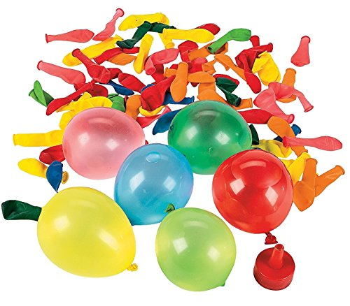 """Water Balloon Bombs (480 Pieces) Latex. 1 1/2"""" Comes with 1 Plastic 1 1/2"""" Easy-fill Funnel."""
