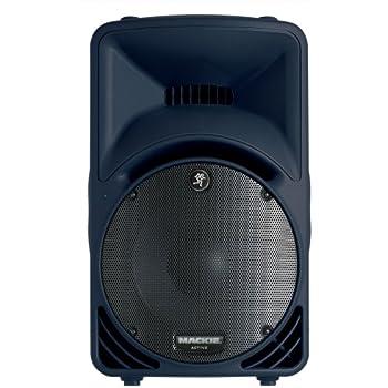 mackie srm450v2 400 watt 12 2 way powered loudspeaker black single speaker. Black Bedroom Furniture Sets. Home Design Ideas