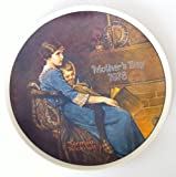 Norman Rockwell's 1978 Mothers Day Plate ''Bedtime''