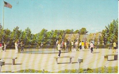 (Vintage Unused Postcard Kennedy Memorial at Hyannis, Cape Cod, Massachusetts)