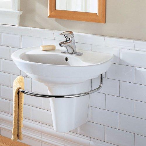 American Standard 3520.000.002 Ravenna Integral Towel Bar, Polished Chrome by American Standard (Image #1)